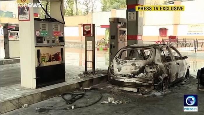 News video: Demonstrationen im Iran: Mehr als 100 Tote befürchtet