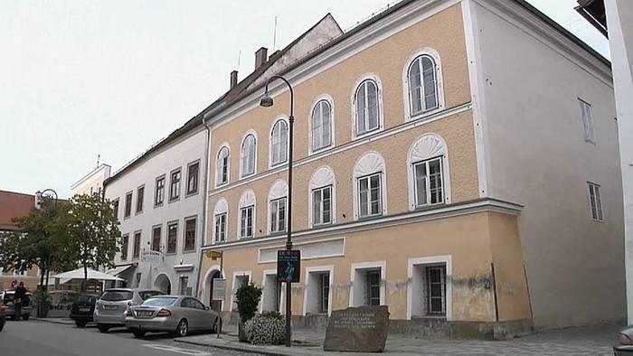 News video: Geburtshaus Hitlers wird Polizeiwache