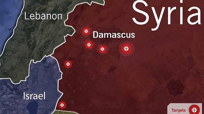 News video: Israel feuert Raketen auf Syrien und zielt auf den Iran