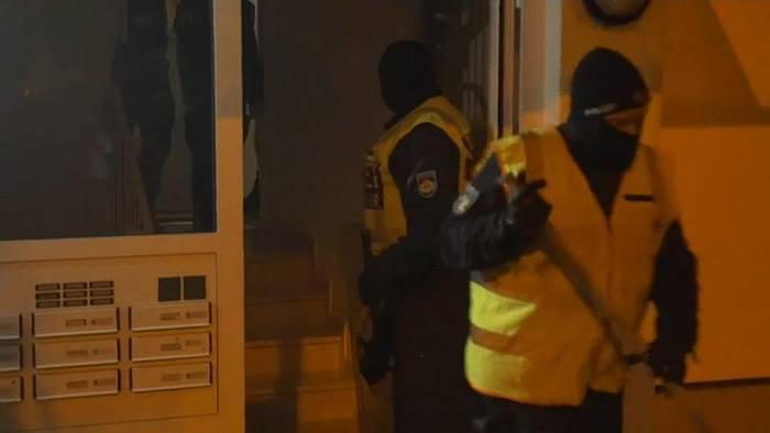 News video: Bremen: Razzia gegen rechtsextremen Verein
