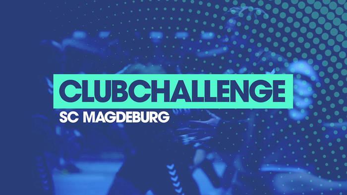 Video: HBL-Clubchallenge: Christoph Steiner und und Moritz Preuss treten für den SC Magdeburg an