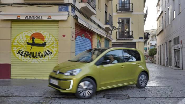 Video: Der neue Volkswagen e-up! - Erschwingliche E-Mobilität