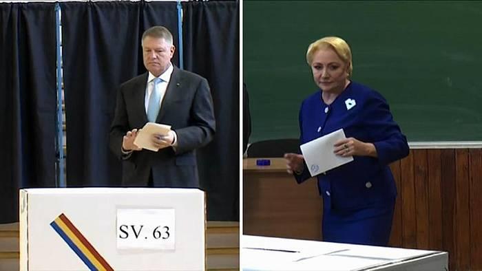 News video: Iohannis gegen Dancila: Stichwahl ohne Debatte