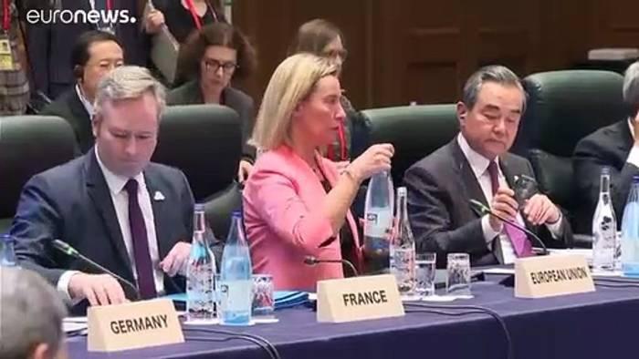 News video: G20-Treffen beendet: Maas traf Cavusoglu