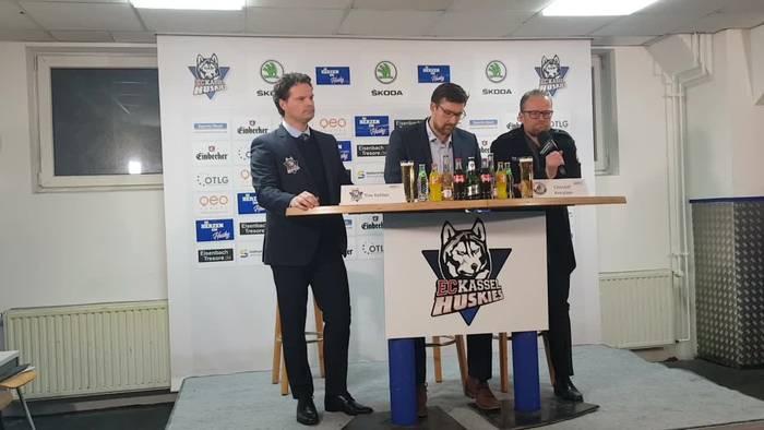 Video: Pressekonferenz Kassel Huskies - EC Bad Nauheim