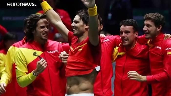 News video: Heimvorteil perfekt genutzt: Spanien gewinnt 6. Davis Cup