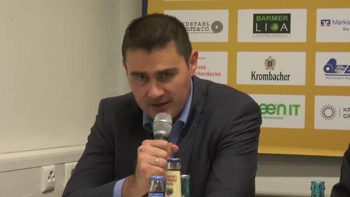 Video: Pressekonferenz Phoenix Hagen - Kirchheim Knights