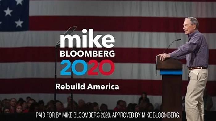 Video: Milliardär Bloomberg will gegen Trump gewinnen