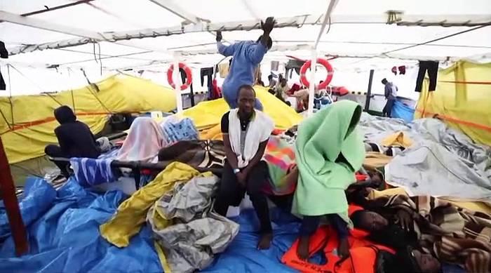 News video: Jetzt doch: Rettende Häfen für Migranten in Italien