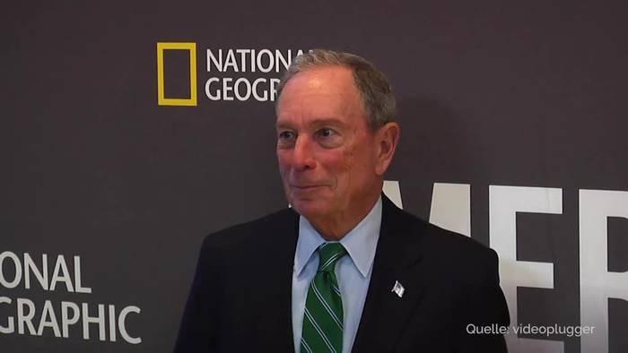 Video: US-Wahl 2020: Bloomberg fordert Trump offiziell heraus