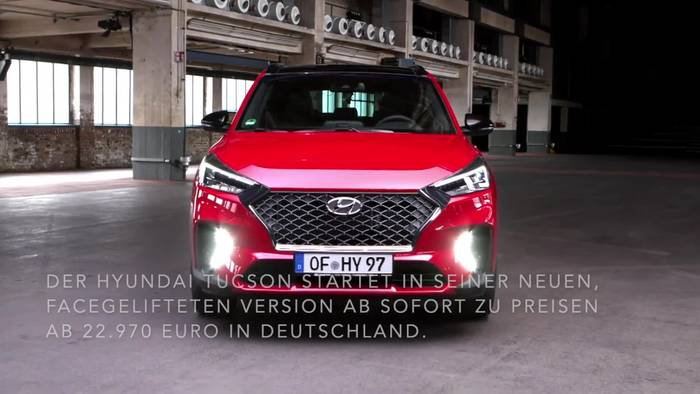 Video: Der neue Hyundai Tucson in Kürtze