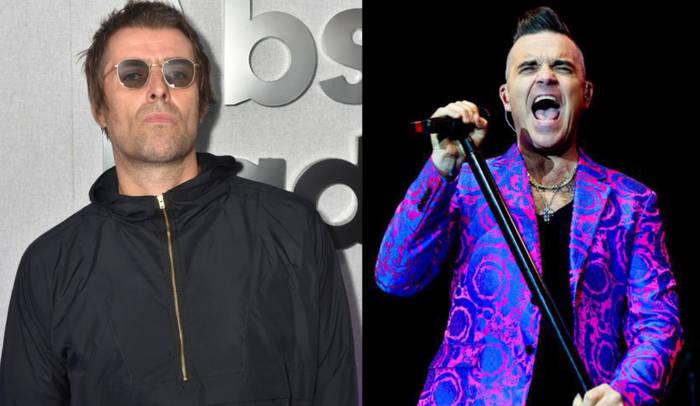 News video: Robbie Williams: Steigt er gegen Liam Gallagher in den Ring?