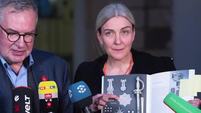 Video: Kunstraub in Dresden - Grünes Gewölbe verteidigt Wachleute