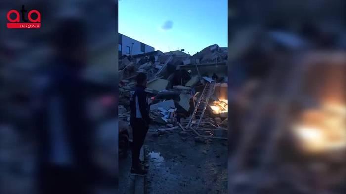 Video: Mindestens 20 Tote nach dem schweren Erdbeben in Albanien