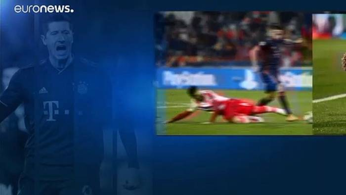 News video: Bayern gewinnt 6:0 gegen Roter Stern: Lewandowski macht 4 Tore