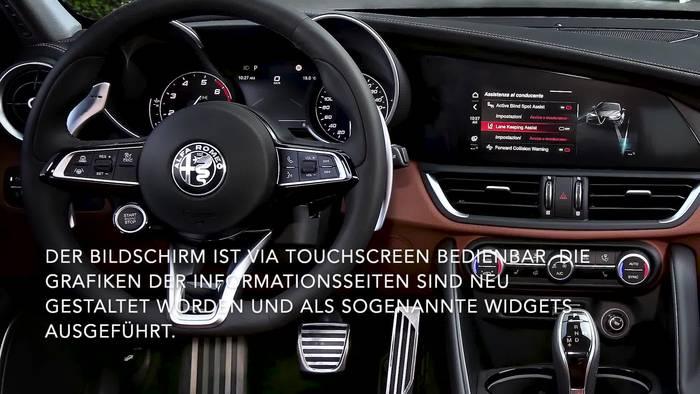 News video: Alfa Romeo Giulia und Alfa Romeo Stelvio im Modelljahr 2020 - Neues Infotainment-System