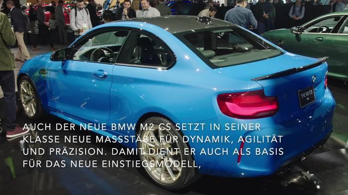 Video: Der neue BMW M2 CS - Kompakter Spitzensportler für Straße und Rennstrecke