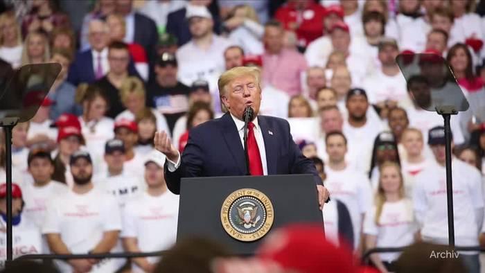 News video: Impeachment-Ermittlungen: Justizausschuss lädt Trump ein
