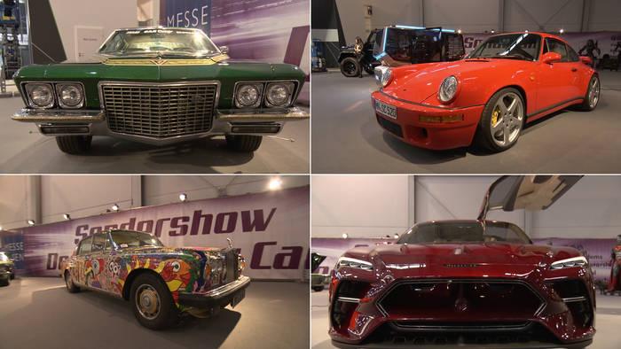 Video: PS-Festival: Das sind die Crazy Cars & Design Cars der Essen Motor Show 2019