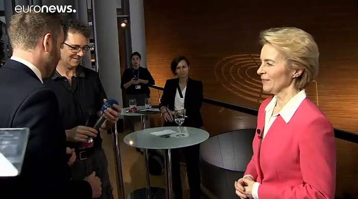 News video: Ursula von der Leyen: Die NATO ist ein sehr lebendiges Bündnis