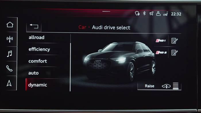 News video: Der neue Audi RS Q8 Sicher vernetzt - die Assistenzsysteme und das Infotainment