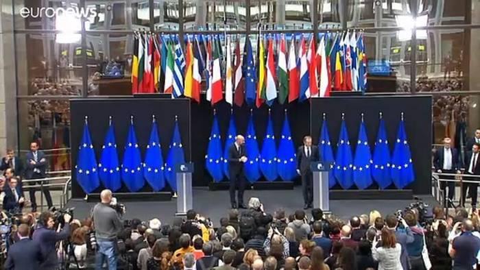 News video: Neuer EU-Ratspräsident Charles Michel