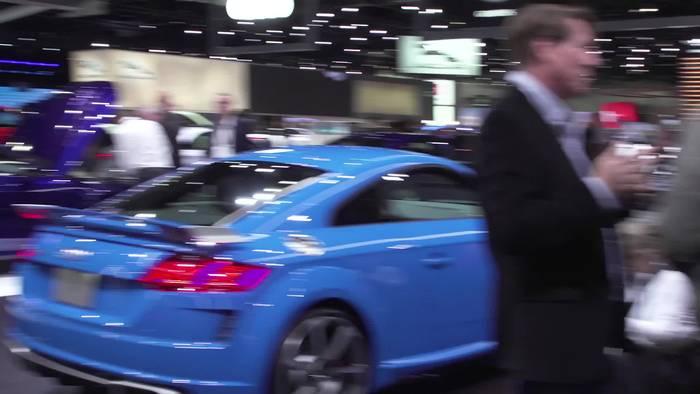 News video: Audi Produktfeuerwerk in Los Angeles 2019 – die Highlights