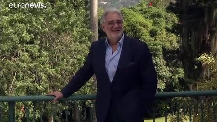 News video: Plácido Domingo: