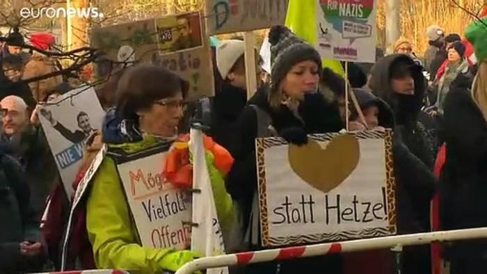 Video: Neue AfD-Doppelspitze: Meuthen und Chrupalla