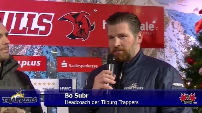 Video: Pressekonferenz Saale Bulls Halle - Tilburg Trappers