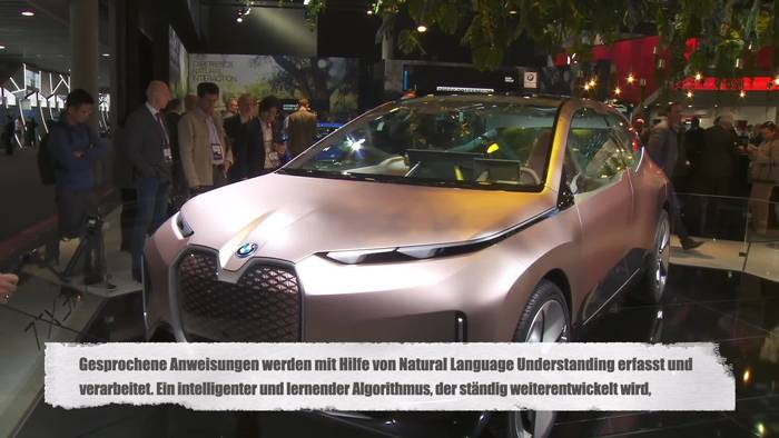 News video: Auf dem Mobile World Congress 2019 präsentiert die BMW Group erstmals BMW Natural Interaction