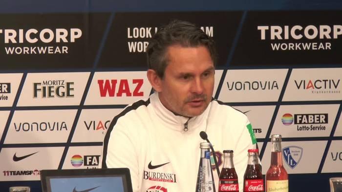 Video: Die Pressekonferenz nach dem Bochumer 2:0 Sieg gegen Aue