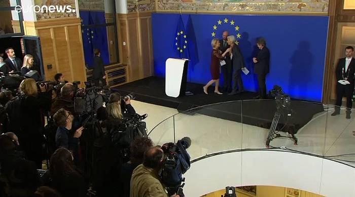 News video: Ursula von der Leyen beginnt 5-jährige Amtszeit als EU-Kommissionschefin