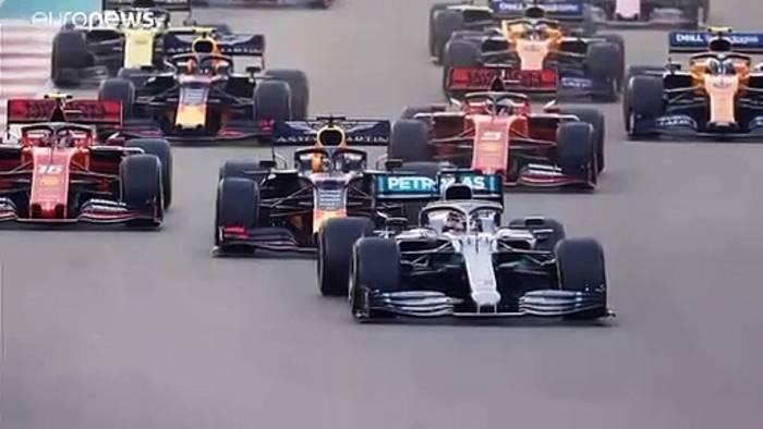 Video: Hamilton krönt sich selbst im 250. Formel-1-Rennen