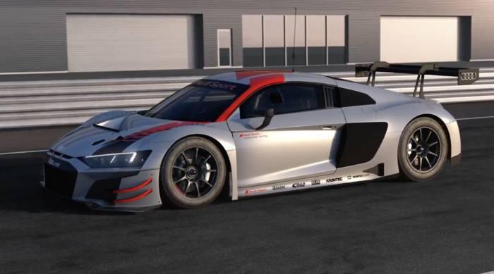 Video: Audi R8 LMS und Audi R8 V10 performance quattro - Sicherheitskonzept und Antriebsstrang Animation