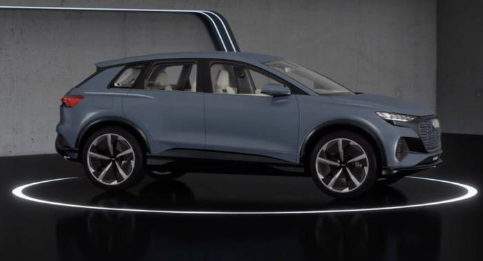 Video: Ausblick auf die Serie - Der Audi Q4 e-tron concept