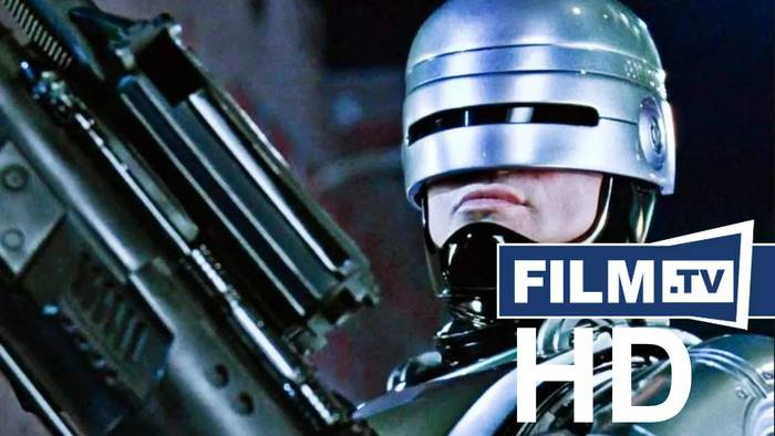 News video: RoboCop Trailer Deutsch German (1988)