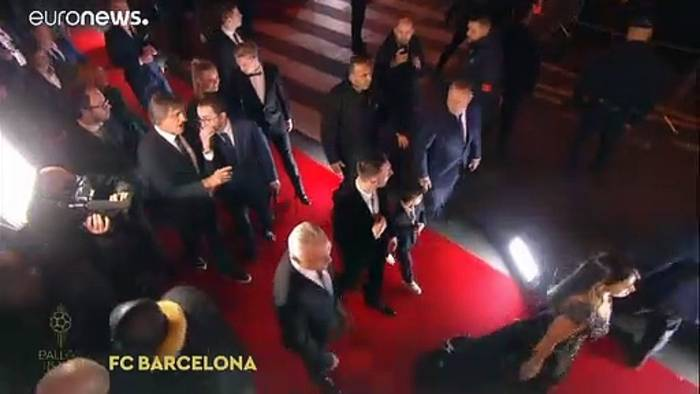 News video: 6. Ballon d'Or: Rekord für Lionel Messi