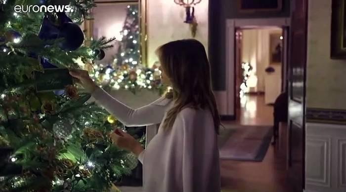 News video: Nach dem Spott - Melanias Weihnachtsdeko 2019: The Spirit of America