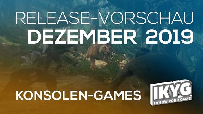 Video: Games-Release-Vorschau - Dezember 2019 - Konsole