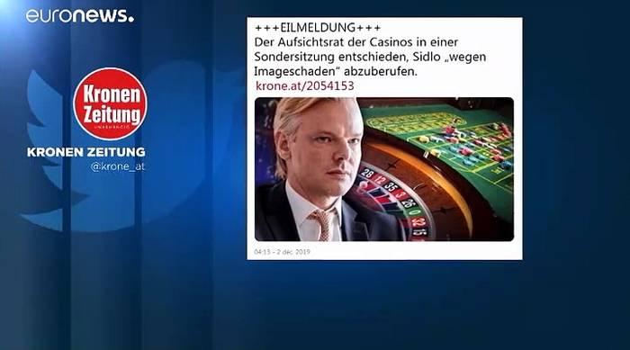 Video: Casinos-Affäre: Sidlos Abberufung erhöht den Druck