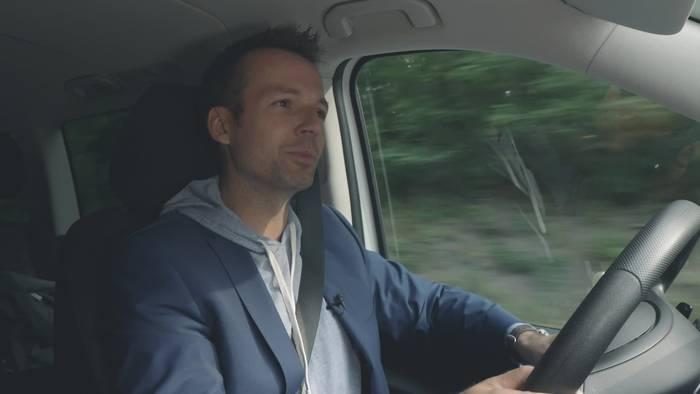 Video: Benjamin Kaehler - Unterwegs mit dem Leiter eDrive@Vans Mercedes-Benz