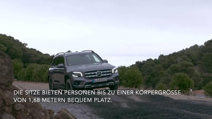 Video: Der neue Mercedes-Benz GLB - Das Wichtigste in Kürze