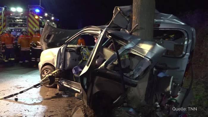 Video: Schwerer Unfall auf Bundesstraße 248