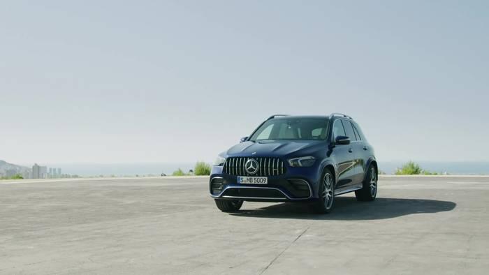 News video: Der neue Mercedes-AMG GLE 63 4MATIC+ und GLE 63 S 4MATIC+ - Das Exterieur-Design - muskulös und markant