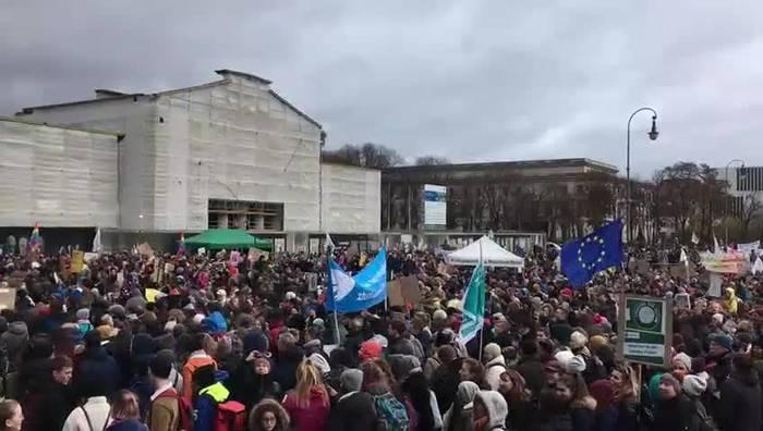 Video: Fridays for Future - Grossdemo beim erneuten Klima-Streik in München