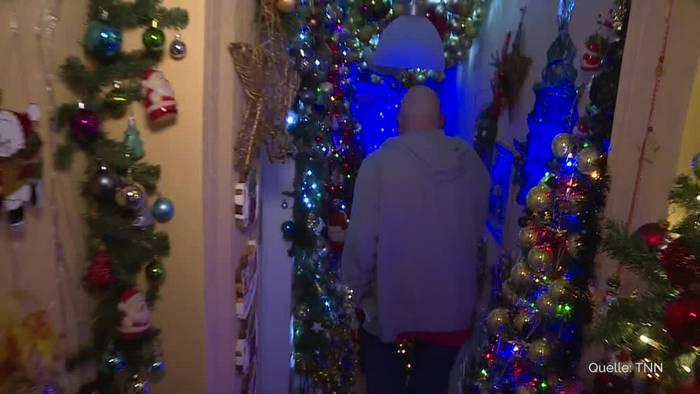 News video: 350 Christbäume im Haus - Weltrekord in Rinteln