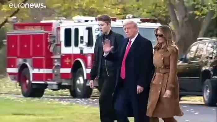 News video: Kongress-Zeugin erwähnt Barron Trump (13) – First Lady schäumt