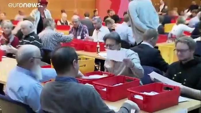 News video: GroKo-Kurs: Designiertes SPD-Führungsduo vor heikler Aufgabe
