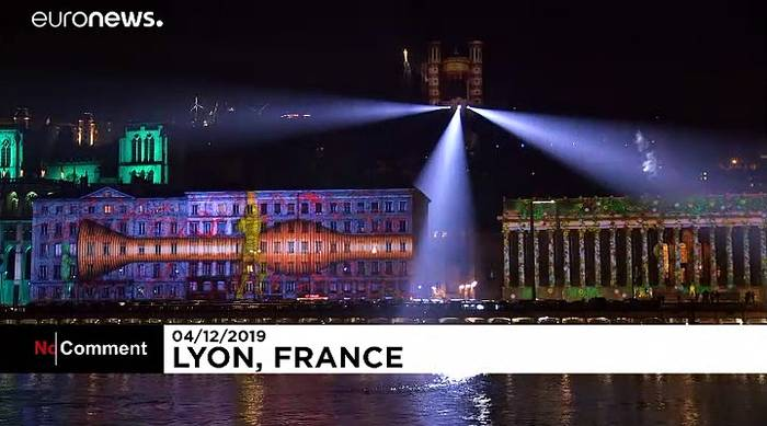 News video: Bis 8. Dezember: Fête des Lumières bringt Lyon zum Strahlen
